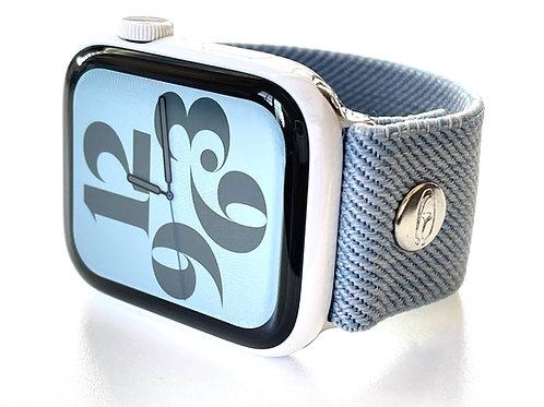 Elastic Apple Watch Band Summer Denim NEW!! European Fabrics