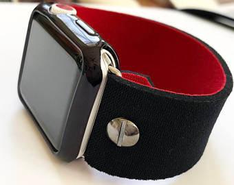 Apple Watch Band Neoprene Series 4 3 2 1 / Fitbit Blaze REVERSIBLE