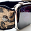 Thumbnail: Apple Watch Band Extra Wide Leather Leopard, Black butter soft leathers