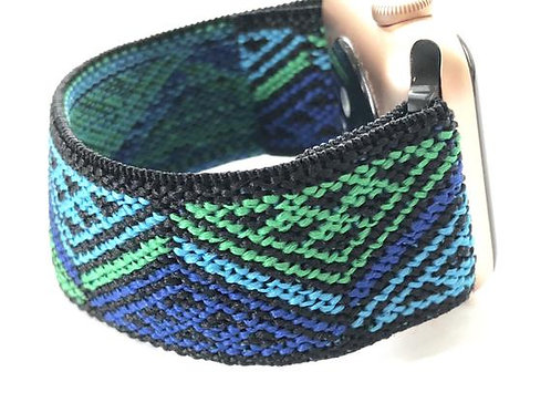 Elastic Apple Watch Band Series 4 3 2 1 / Fitbit Blaze Peaks and Valleys