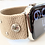 Thumbnail: Elastic Watch Band for Apple, Fitbit Versa, Fitbit Blaze Desert Sand