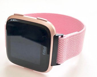 Elastic Fitbit Versa band, Apple 40mm, Samsung Active - slim line