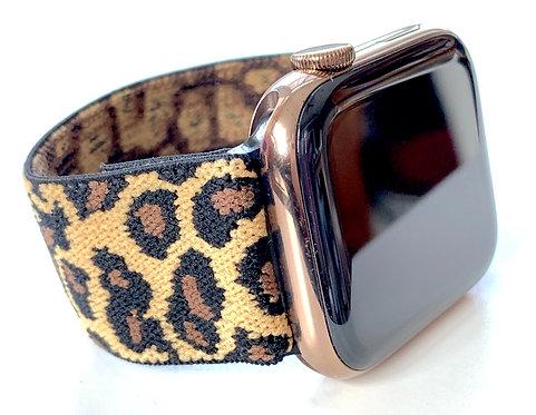 Elastic Apple Watch Band Series 4 3 2 1 / Fitbit Blaze Cheetah, Zebra