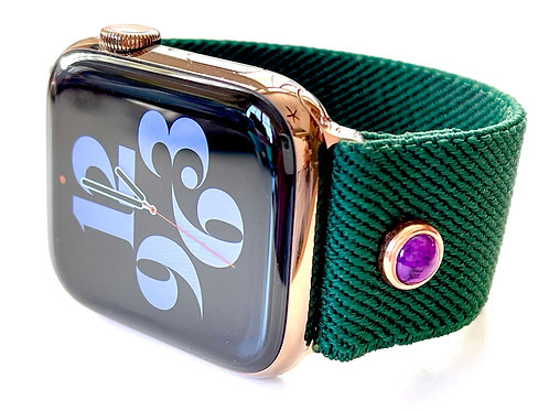 Elastic Apple Watch Band Jewel of the Forest