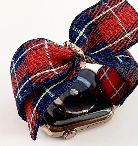 Elastic Apple Watch Band Series 4 3 2 1 / Fitbit Blaze  Bow Tie