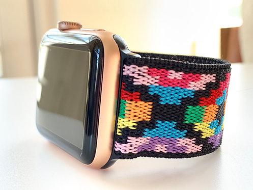 Elastic Apple Watch Band Series 4 3 2 1 / Fitbit Blaze Pixels