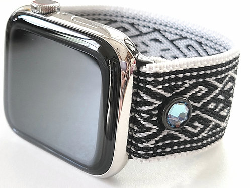 Stretch Elastic Watch Band for Apple, Fitbit Versa, Fitbit Blaze