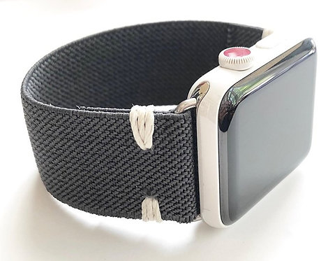 Elastic Apple Watch Band Series 4 3 2 1 / Fitbit Blaze Hand stitched