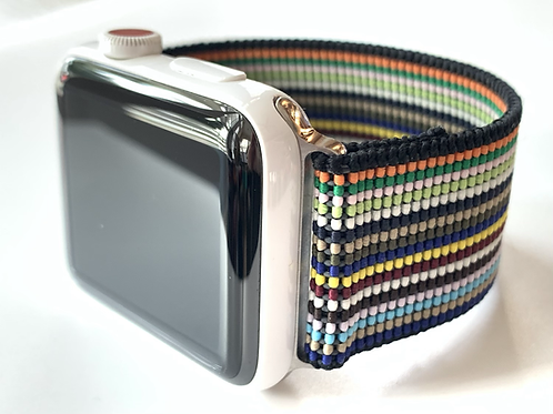 Elastic Apple Watch Band / Fitbit Designer Stripes will