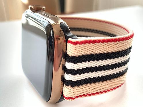 Elastic Apple Watch Band Series 4 3 2 1 / Fitbit Blaze Designer Stripes