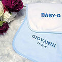 Personalised Baby Bibs💙...tag a mammy t