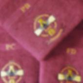 Football Club personalised towel