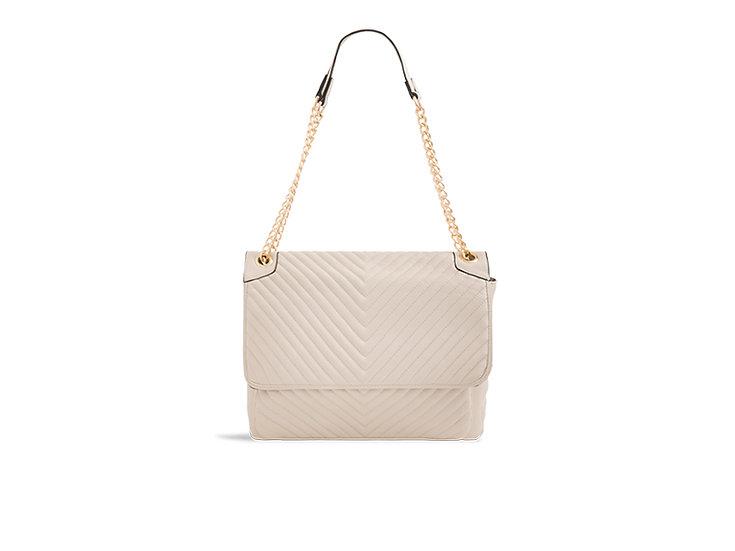 Personalised Large Quilted Shoulder Bag
