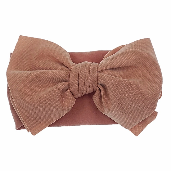 Personalised  Baby Bow Head Wrap