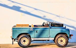 """1973 Series III, 88"""" Marine Blue"""