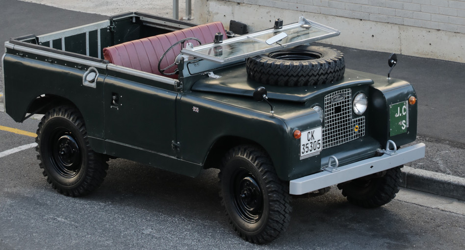 1961 Series IIa, SWB