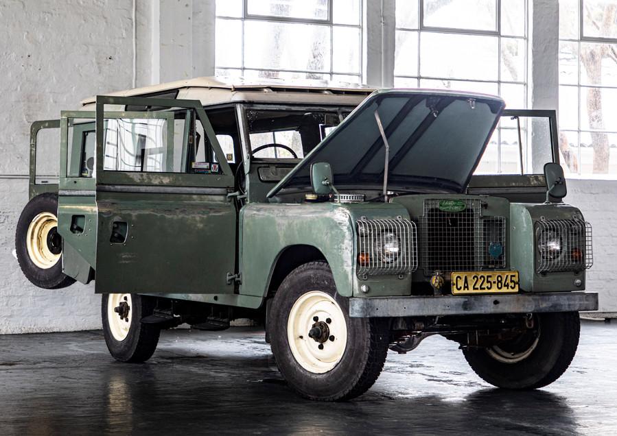 1970 Series IIa, Five door