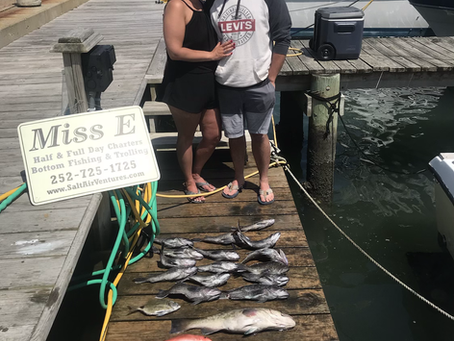 Morehead city Fishing is heating up...