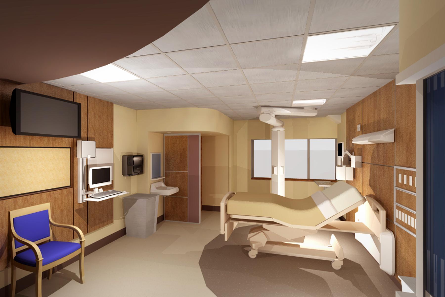 VA 4th Floor MICU/CCU Remodel (2013)