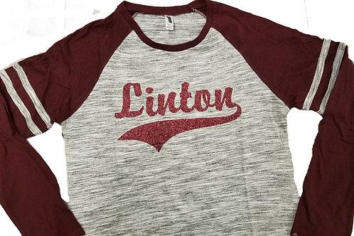 """Linton """"Bling"""" Baseball Tee"""