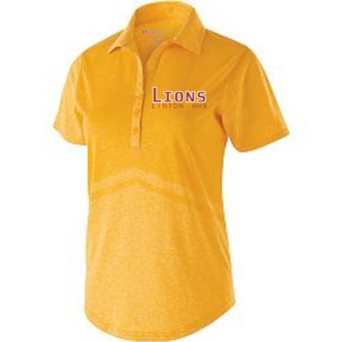 Ladies Gold Seismic Polo