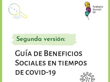 Lanzamos la 2° versión de la Guía de Beneficios Sociales junto a la Escuela de Trabajo Social UC