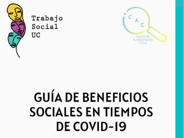 Lanzamos la 1° versión de la Guía de Beneficios Sociales junto a la Escuela de Trabajo Social UC