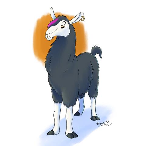 Emo Llama