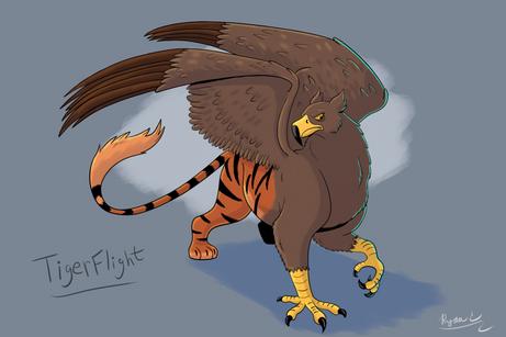Character Design: TigerFlight