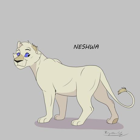 Character Design: Neshwa
