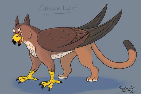 Character Design: Crimson Leaf