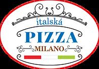 Milano pizza - rozvoz zdarma - logo