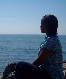 Me overlooking the ocean.