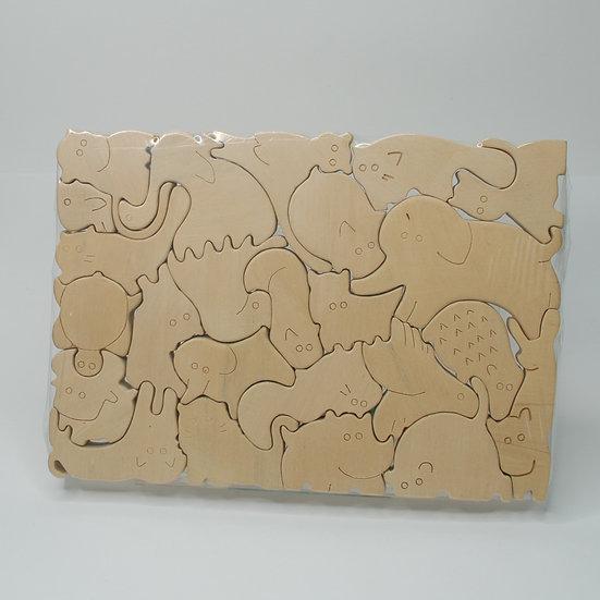 24-piece Jungle Book