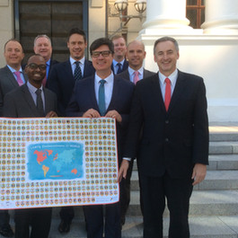 Out LGBTQ members of the South African Parliament