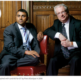 Lords Waheed Alli and Chris Smith