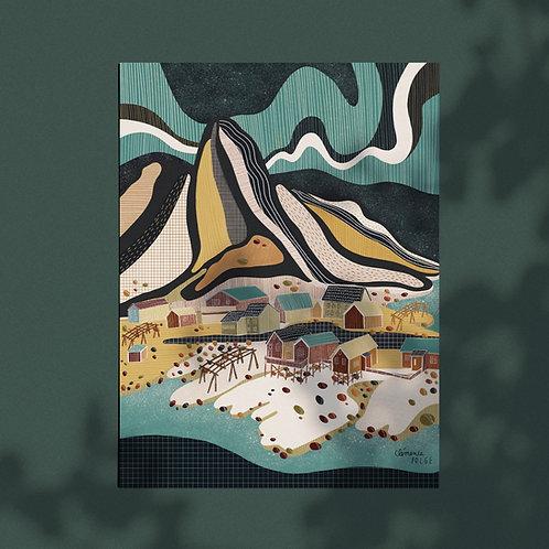 Affiche - Aurores Boréales - Lofoten