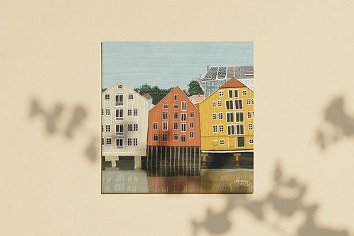 Le Vieux Port - Trondheim