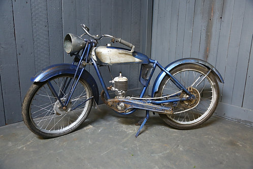 C1930's Vintage French Motorcycle
