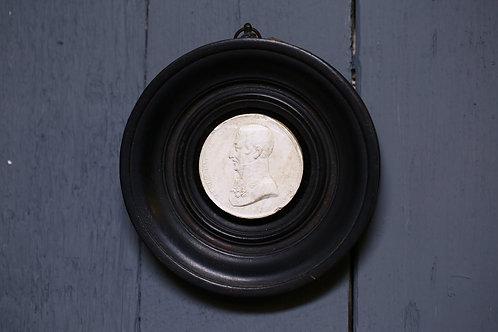 C19th Plaster plaque