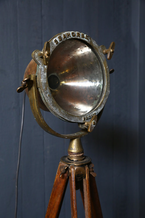 C20th Nautical Lamp on Tripod