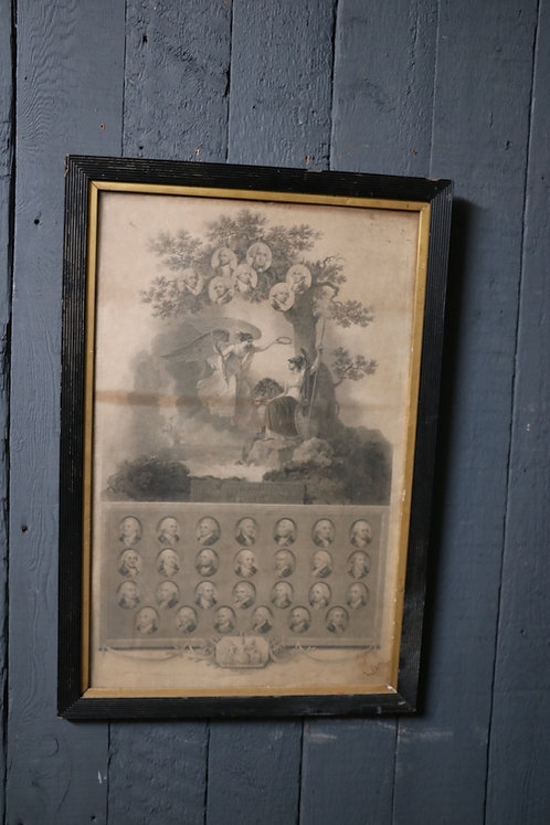 C19th Copper Engraving