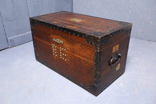 C1870 military silver chest