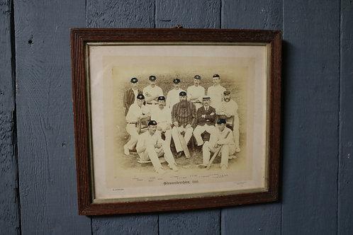 C19th Cricket Team Photograph