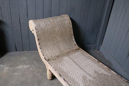 C1920s Colonial Ratan Chaise Lounge