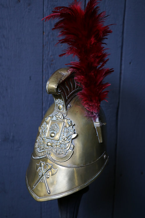 C1840 French Sappers and Pompiers Dress Helmet