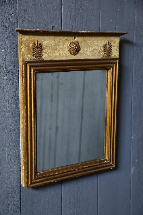 C19th Original Painted Mirror