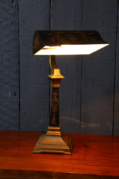 C20th Empire Style Desk Lamp