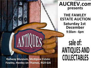 "Don't miss the ""Fawley Estate Auction"" this is an amazing collection of Antiques and C"