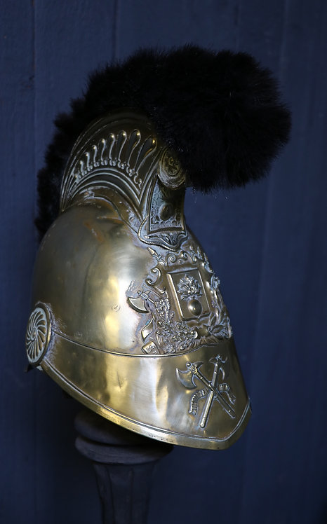 C1830 French Sappers and Pompiers Helmet